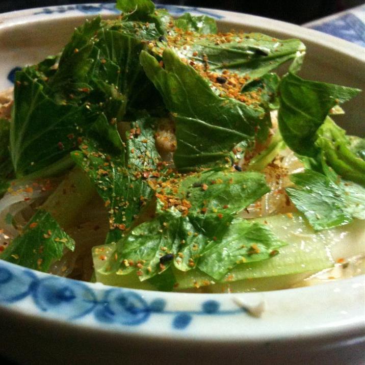 太郎食堂 - サラダポテトサラダ春雨とひき肉のサラダ春雨とセロリのサラダかぼちゃサラダ
